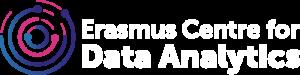 Erasmus Centre for Data Analytics logo white
